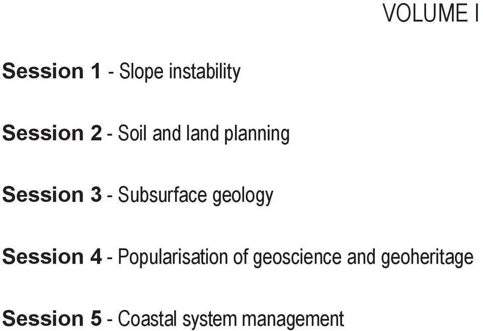 geology Session 4 - Popularisation of geoscience