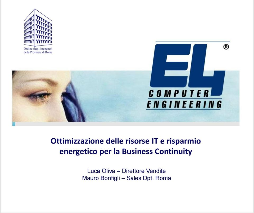 Business Continuity Luca Oliva