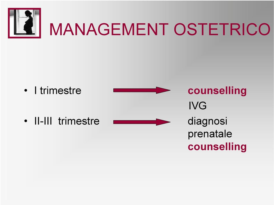 trimestre counselling