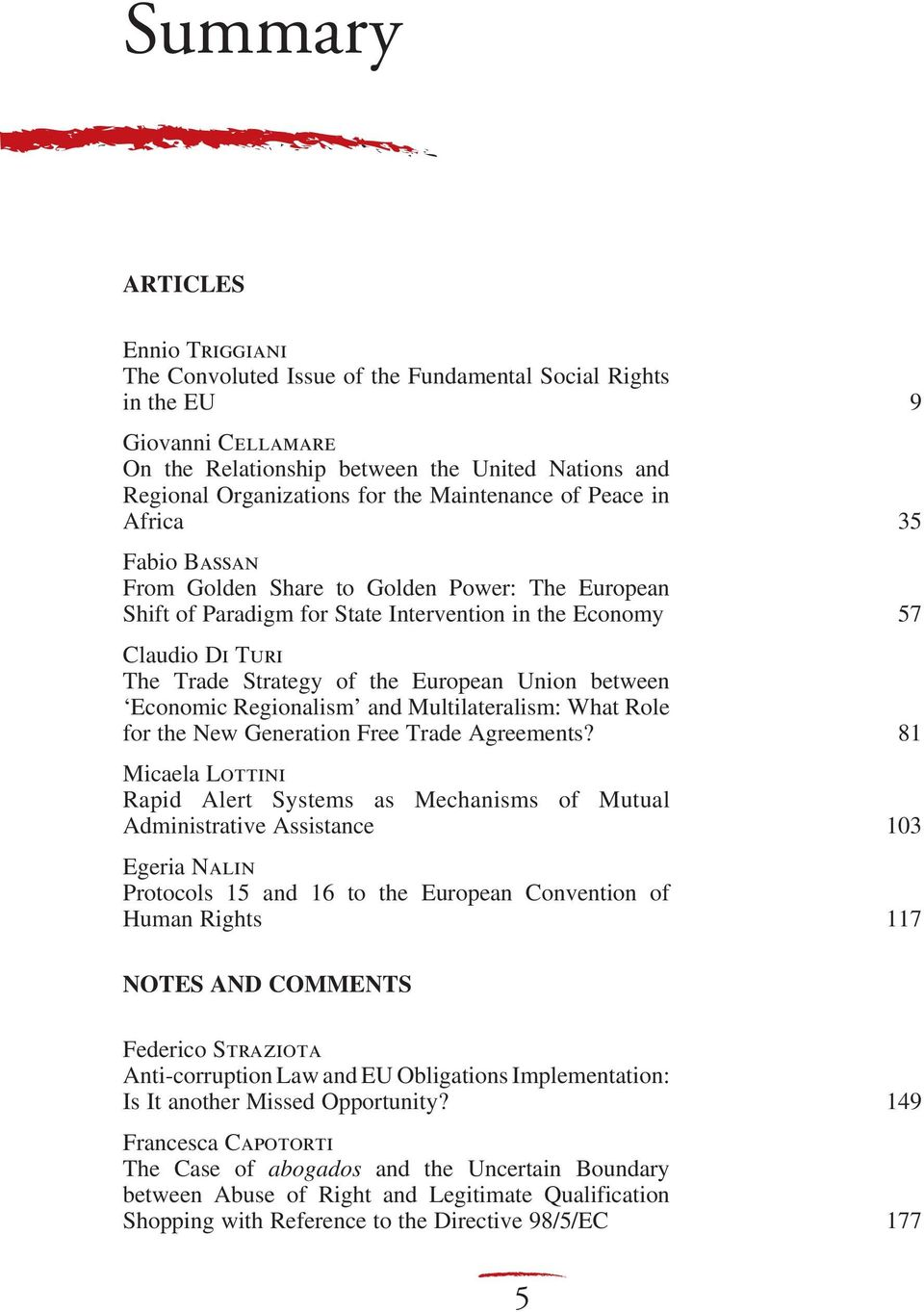 European Union between Economic Regionalism and Multilateralism: What Role for the New Generation Free Trade Agreements?