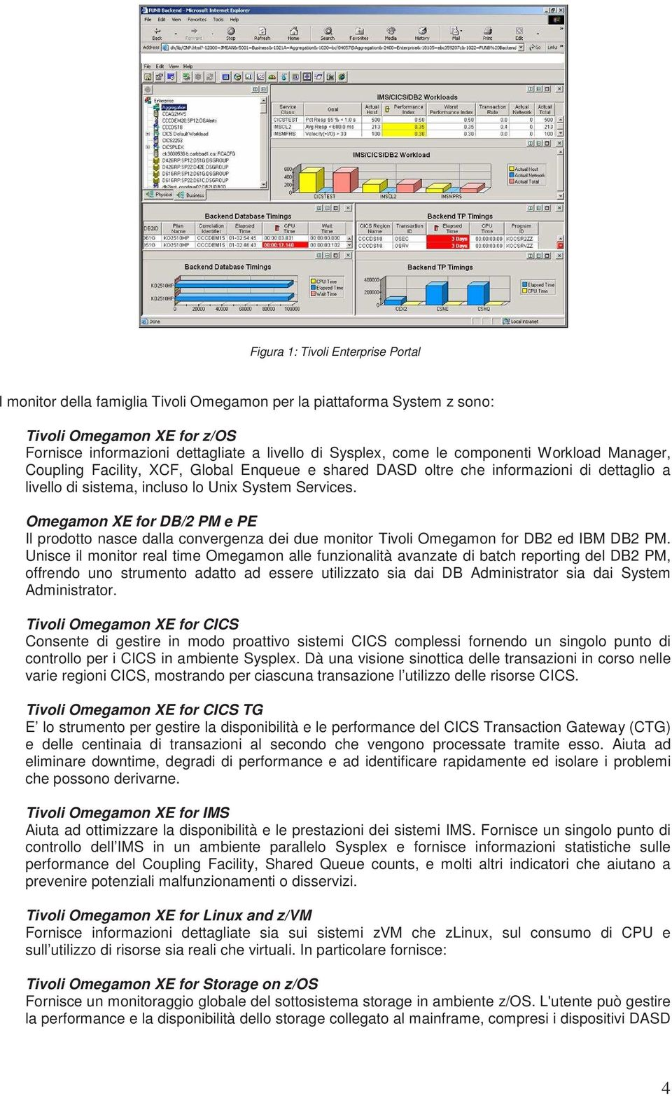 Omegamon XE for DB/2 PM e PE Il prodotto nasce dalla convergenza dei due monitor Tivoli Omegamon for DB2 ed IBM DB2 PM.