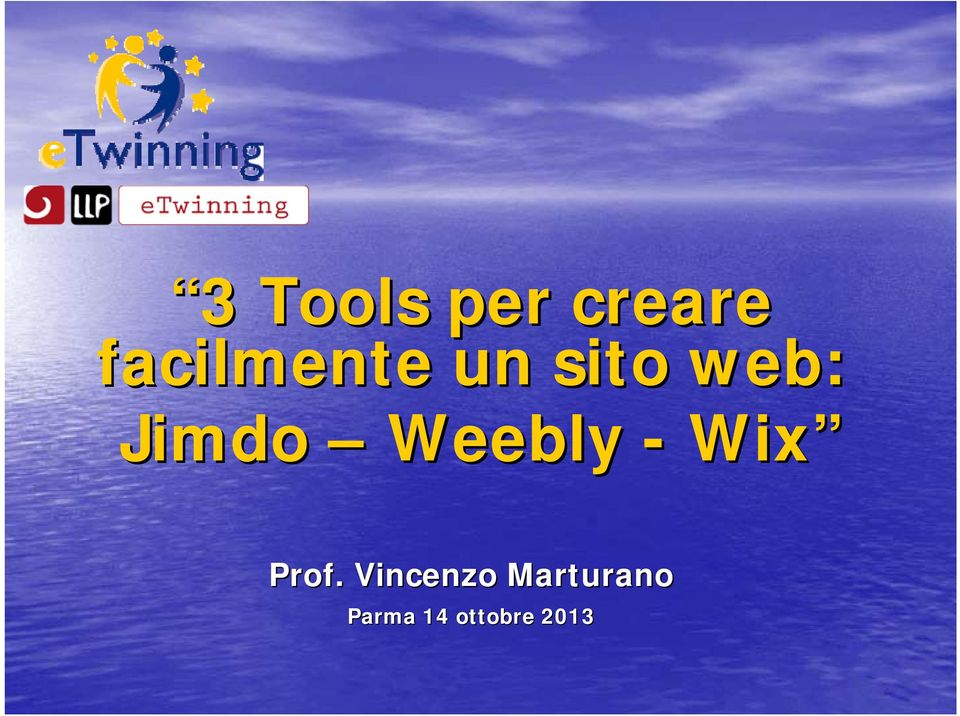 Jimdo Weebly - Wix Prof.