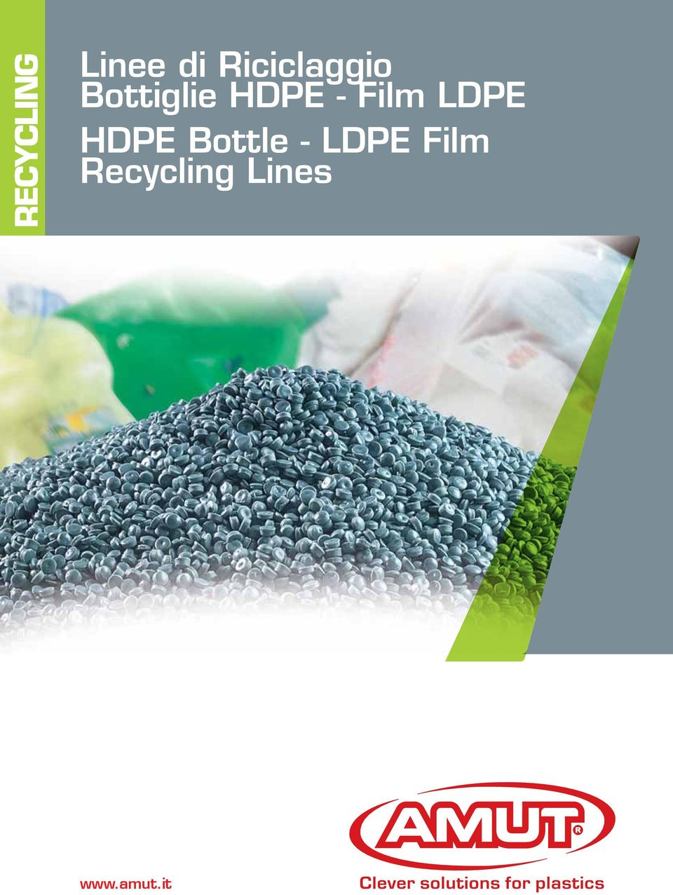 - Film LDPE HDPE Bottle -