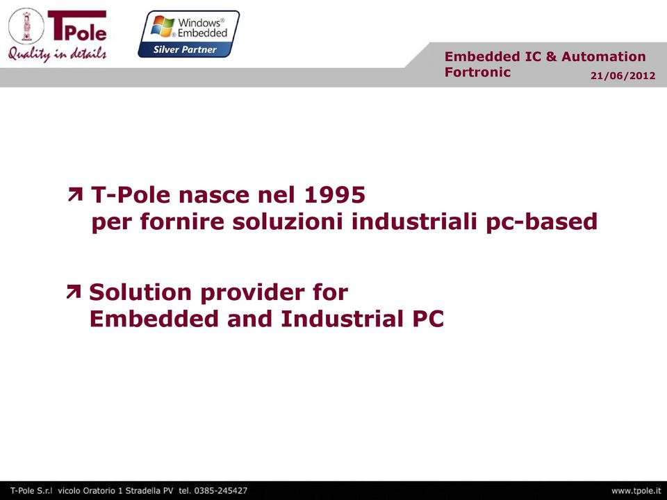 industriali pc-based