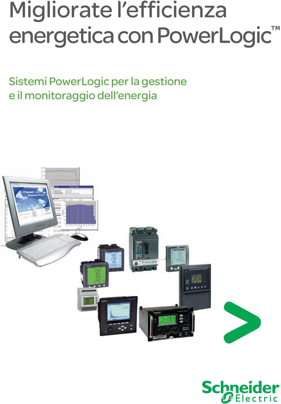 Sistemi PowerLogic per la