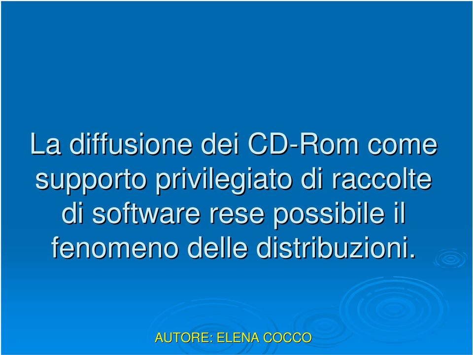 raccolte di software rese