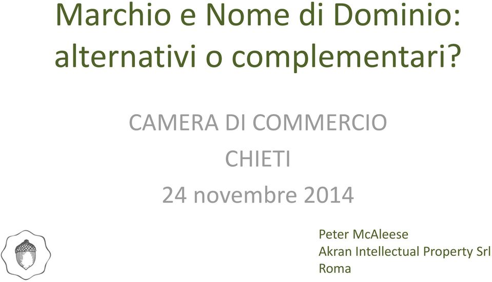 CAMERA DI COMMERCIO CHIETI 24