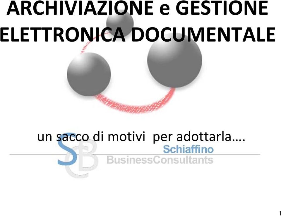 DOCUMENTALE un sacco