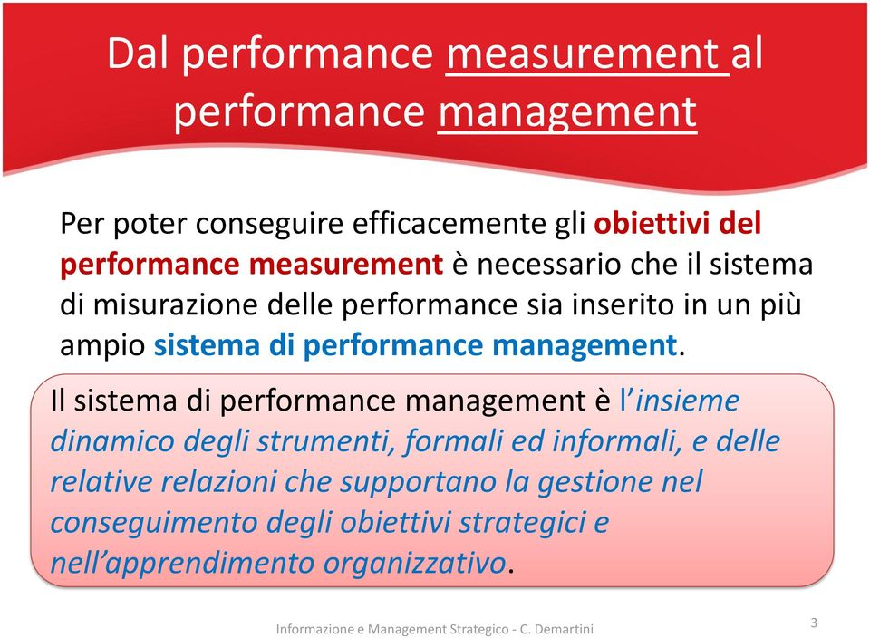 performance management.