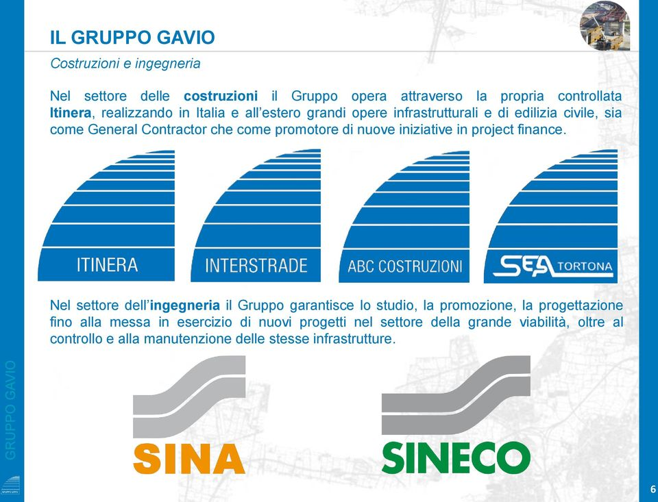 nuove iniziative in project finance.