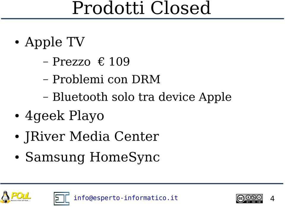 solo tra device Apple 4geek Playo