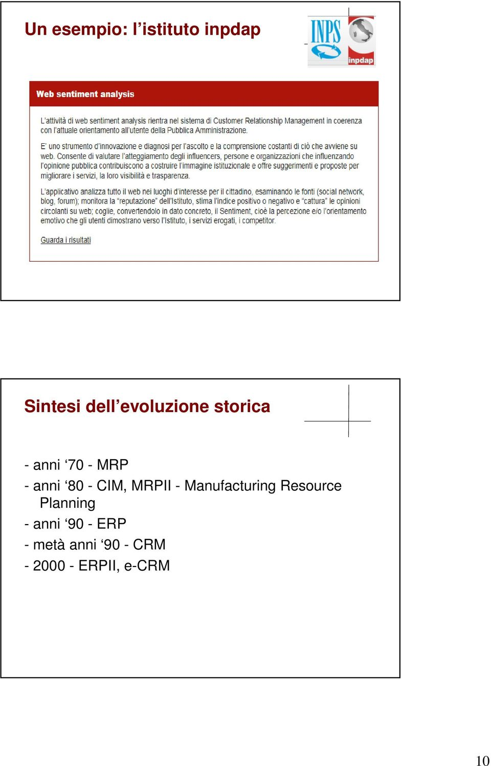 CIM, MRPII - Manufacturing Resource Planning -