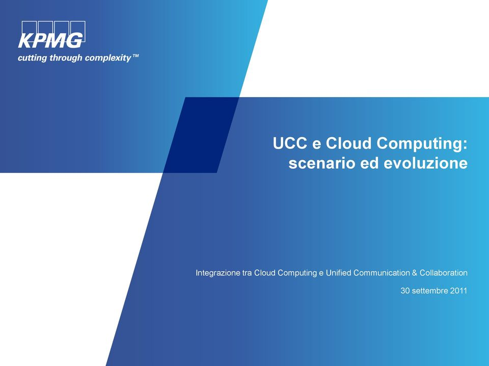 Cloud Computing e Unified