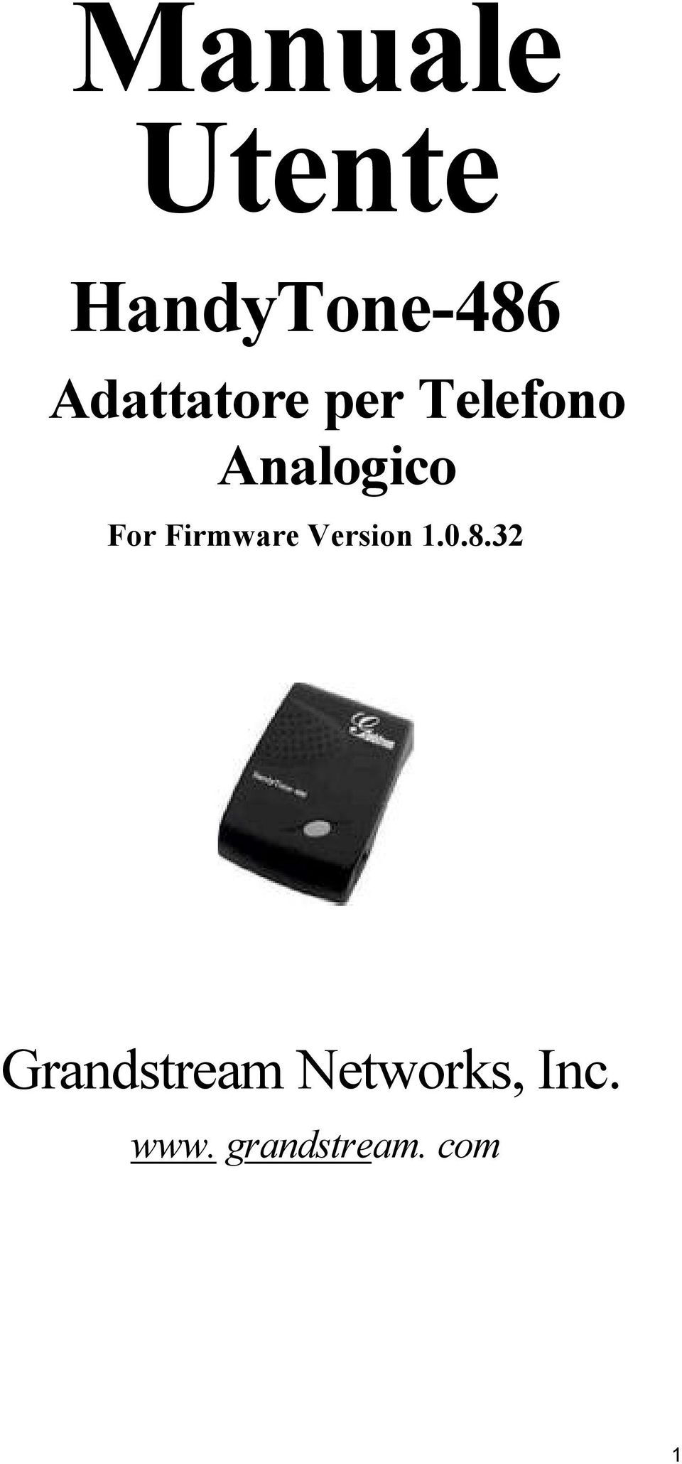 Analogico For Firmware