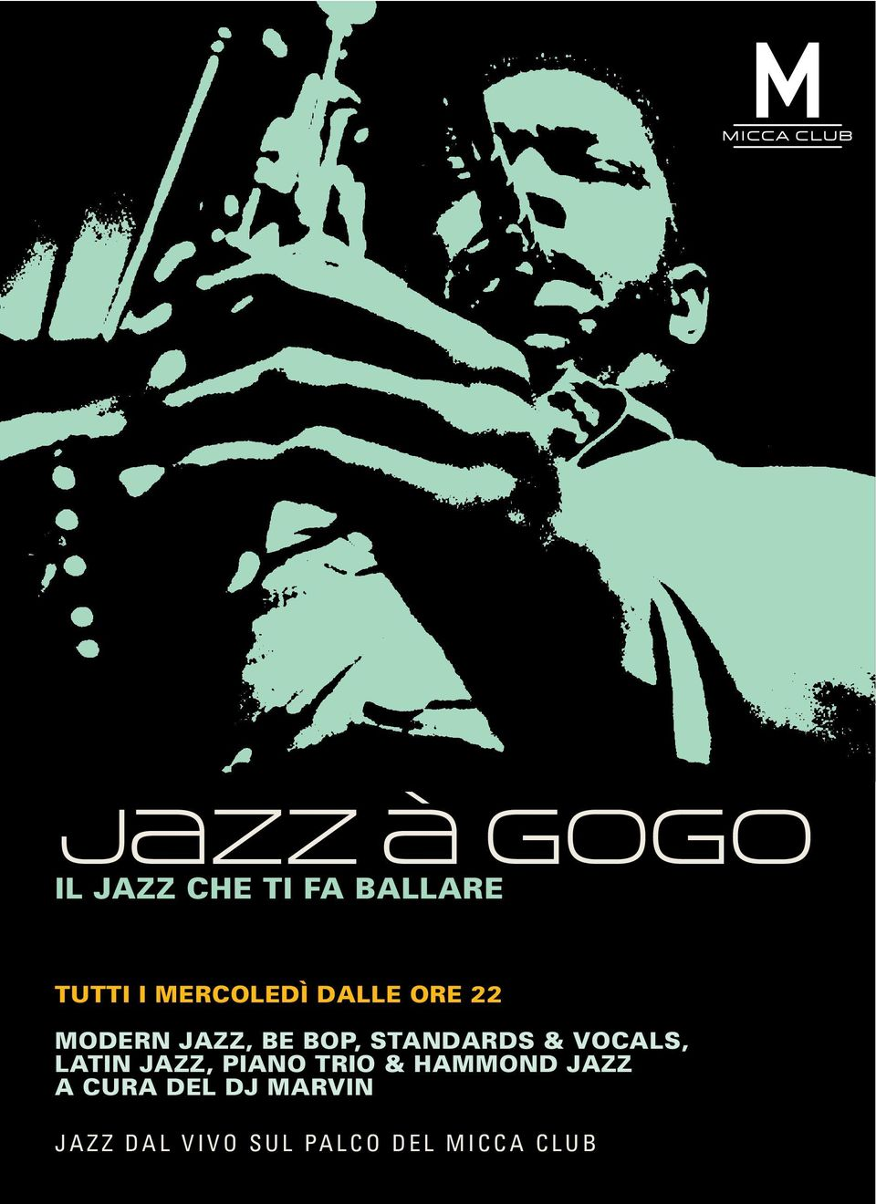 LATIN JAZZ, PIANO TRIO & HAMMOND JAZZ A CURA DEL DJ