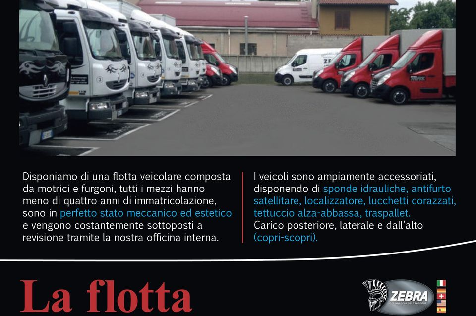 nostra officina interna.
