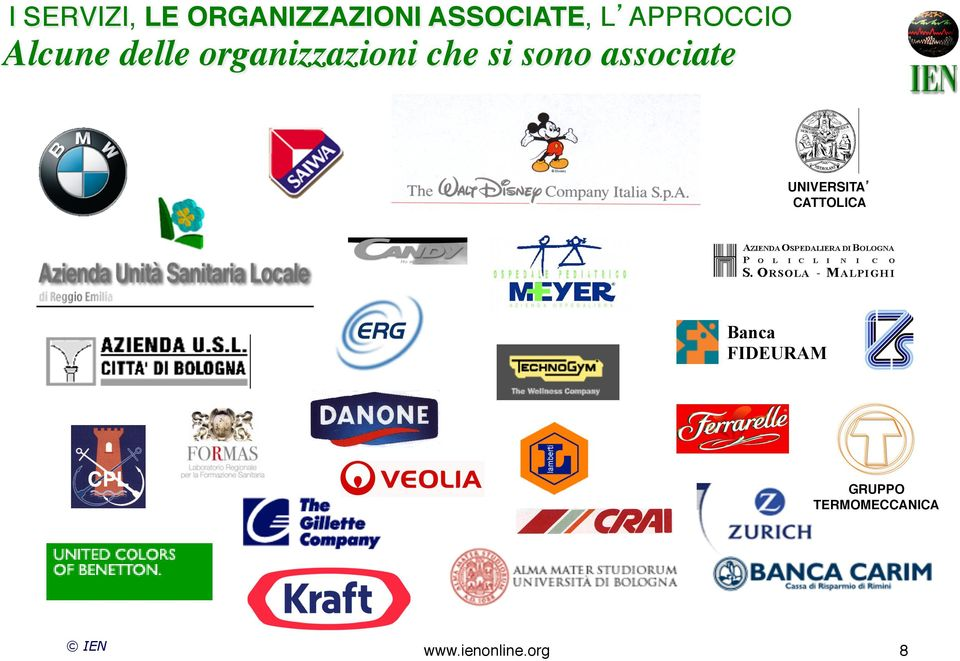 sono associate UNIVERSITA! CATTOLICA!
