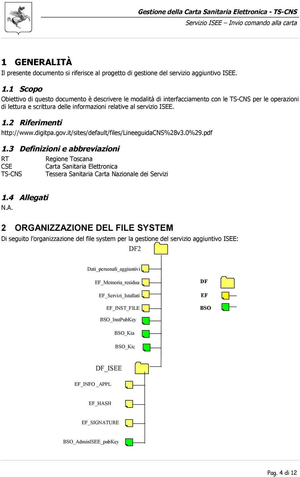2 Riferimenti http://www.digitpa.gov.it/sites/default/files/lineeguidacns%28v3.0%29.pdf 1.