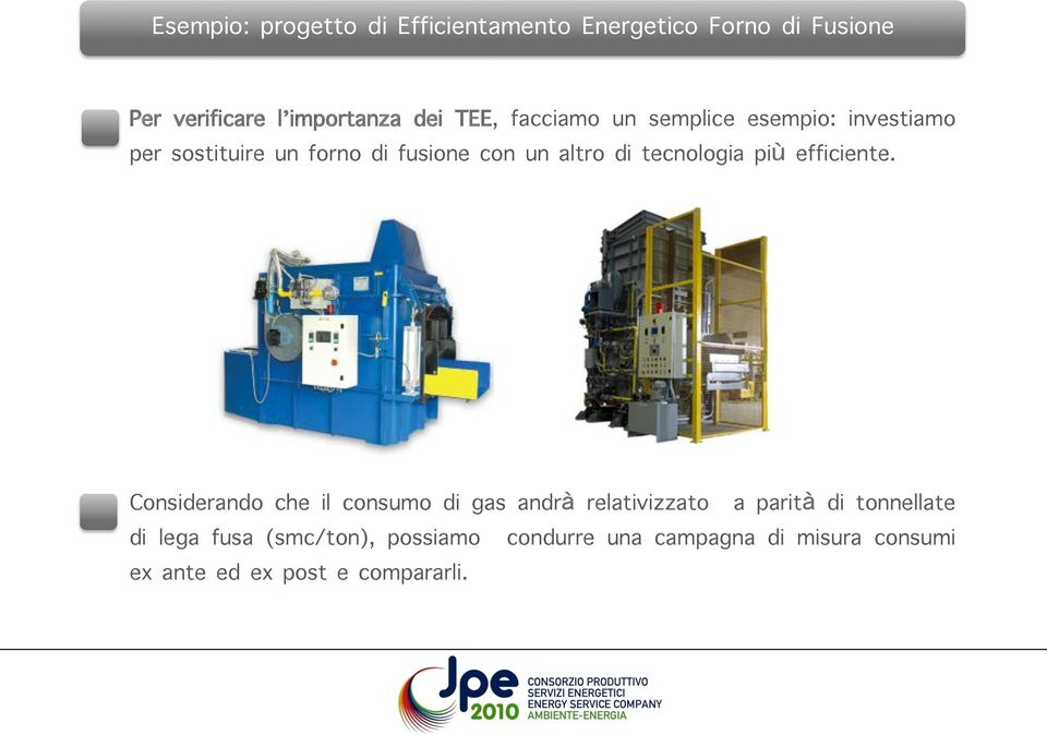 tecnologia più efficiente.