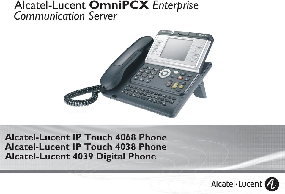 Tuch 408 Phne Alcatel-Lucent IP Tuch