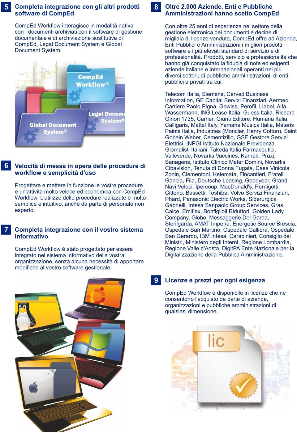 sostitutiva di omped, Legal Document System e Global Document System.
