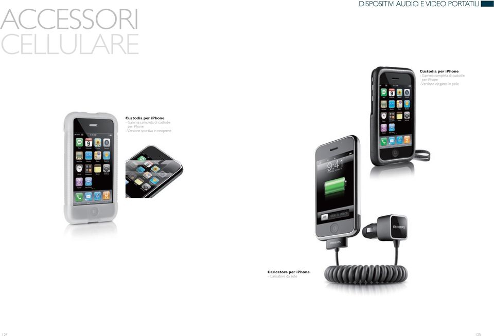 iphone - Gamma completa di custodie per iphone - Versione