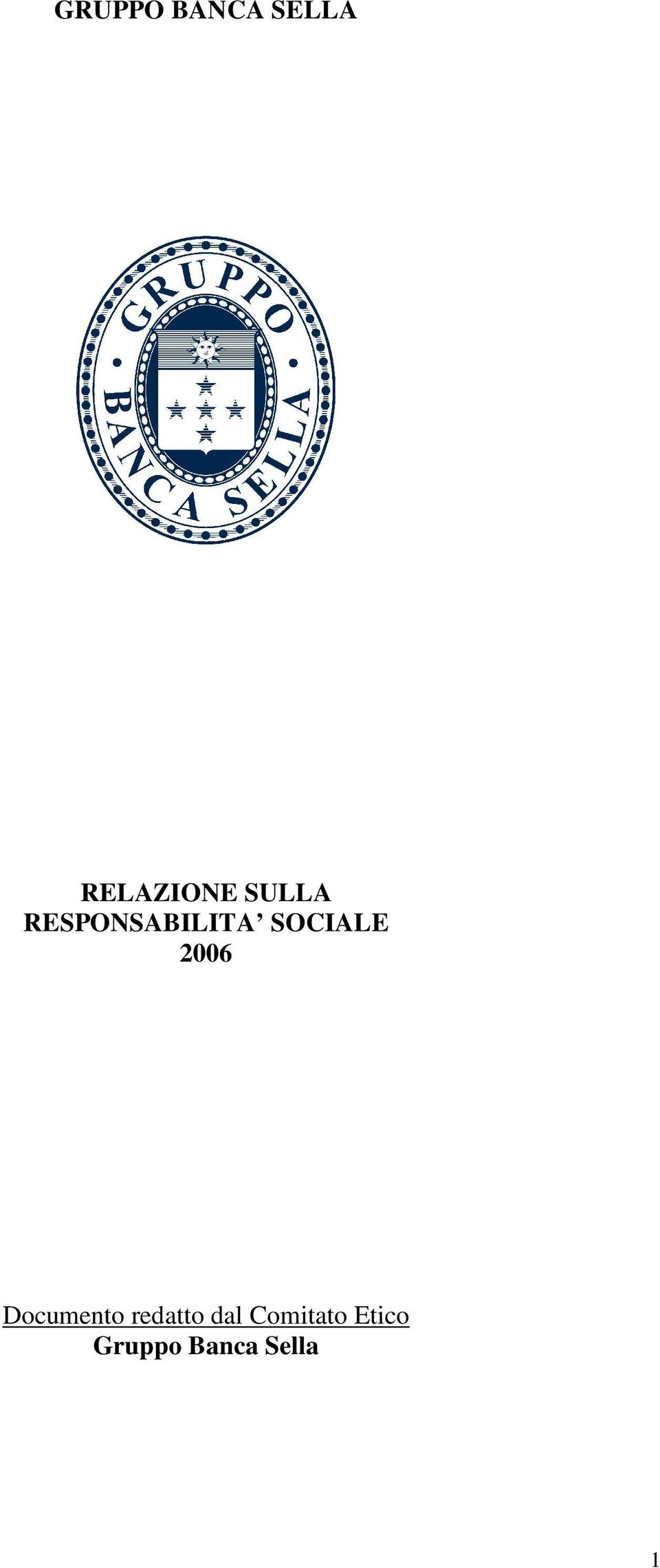 2006 Documento redatto dal