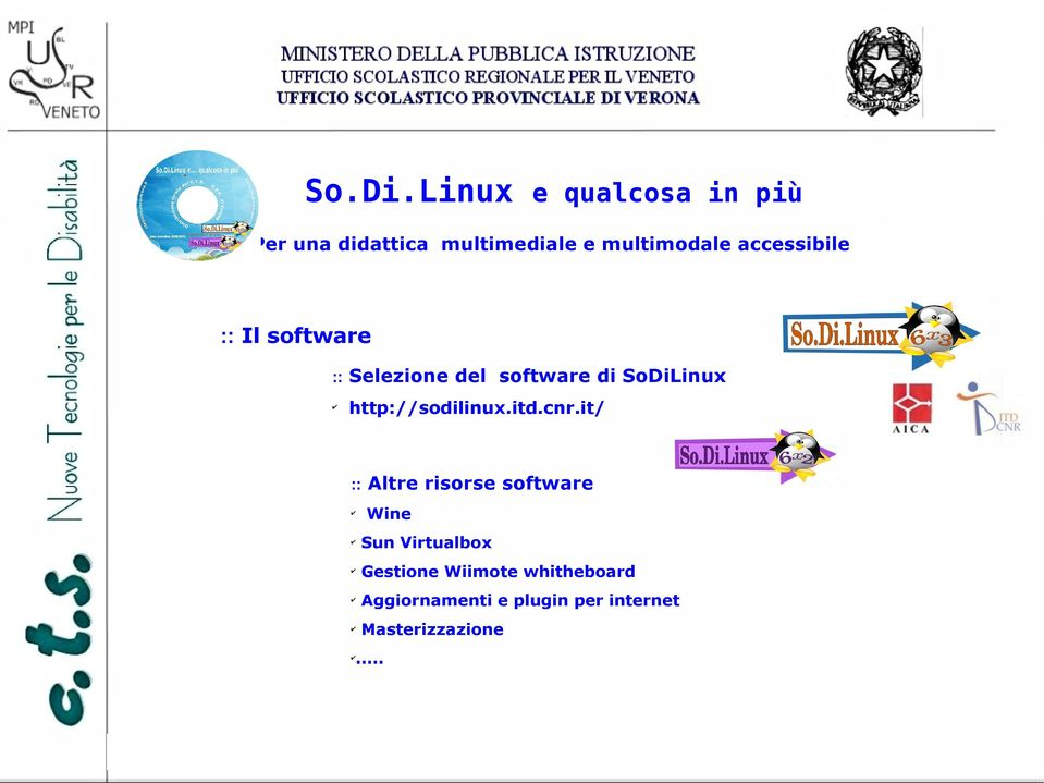 it/ :: Altre risorse software Wine Sun Virtualbox