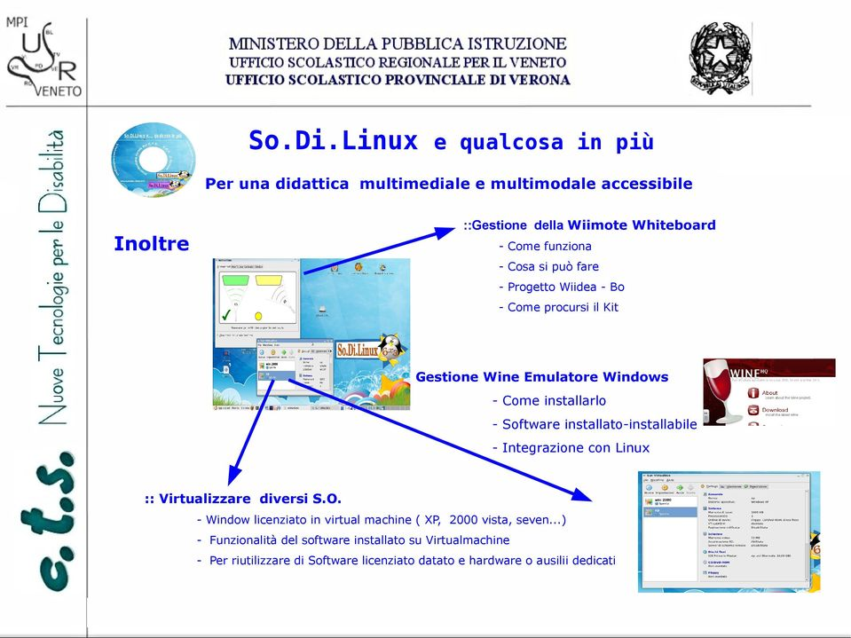 Linux :: Virtualizzare diversi S.O. - Window licenziato in virtual machine ( XP, 2000 vista, seven.
