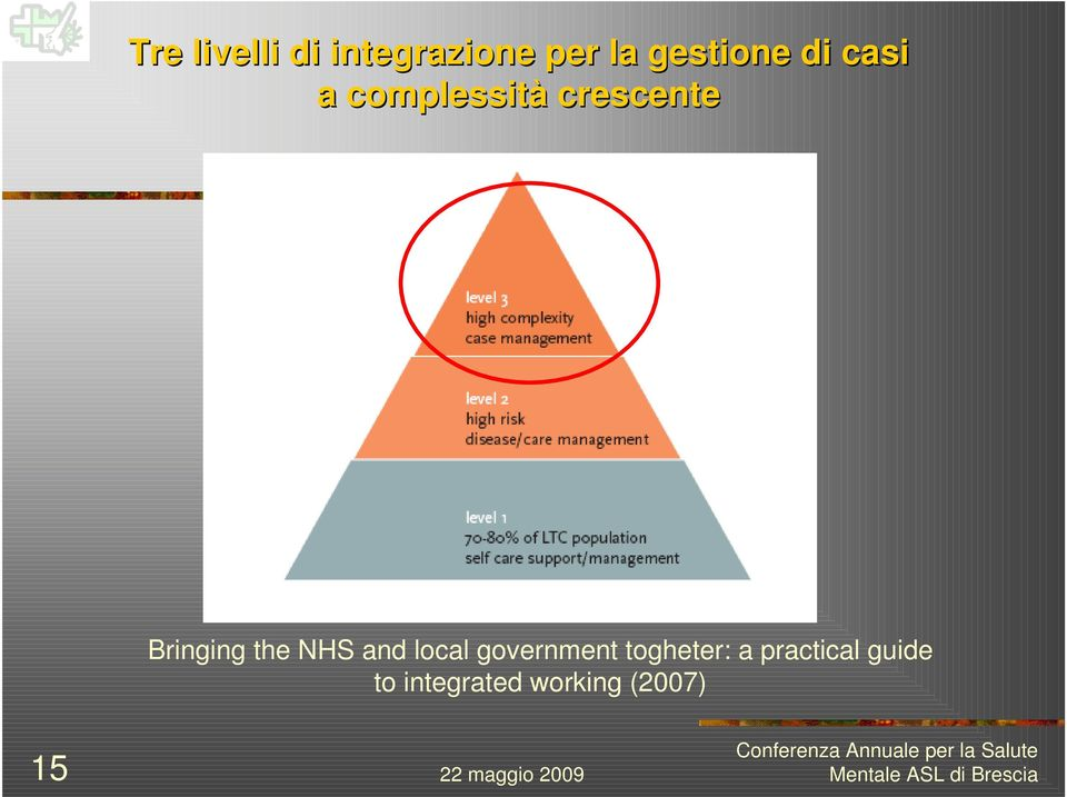 the NHS and local government togheter: a