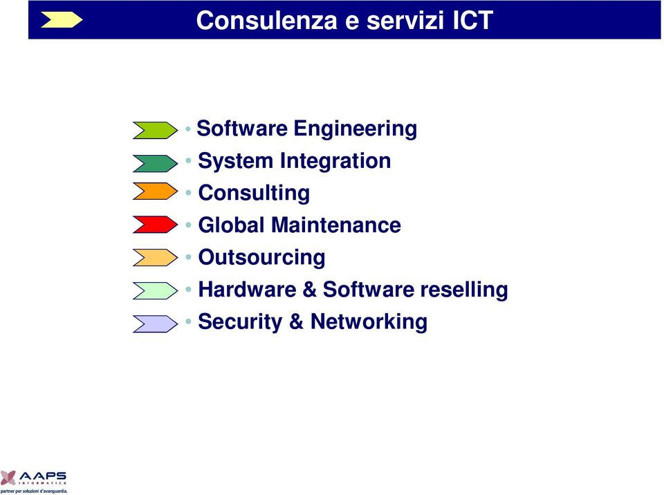 Consulting Global Maintenance