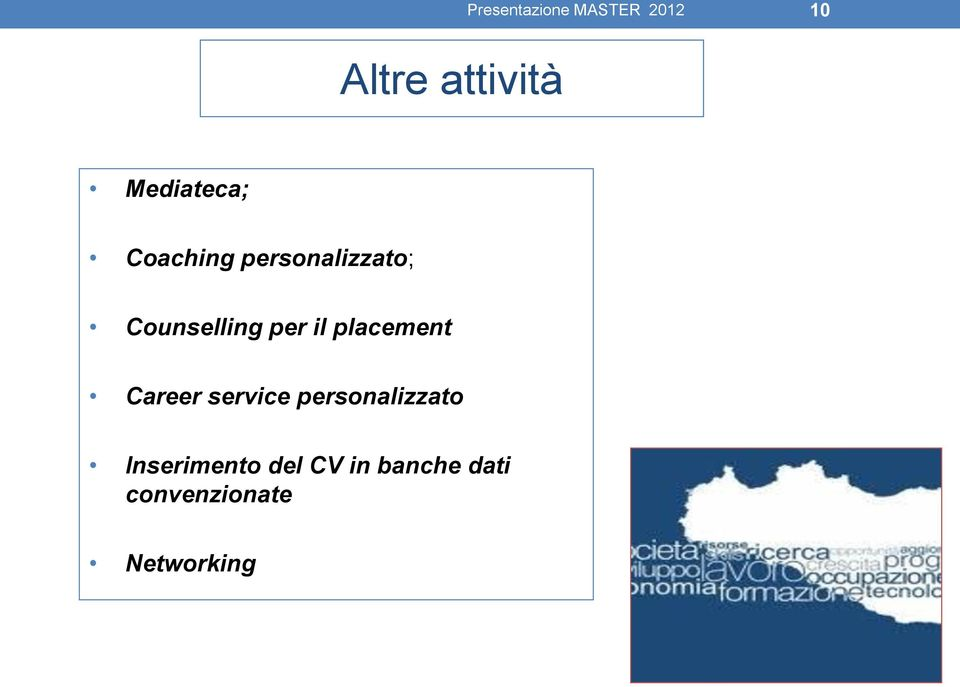 placement Career service personalizzato