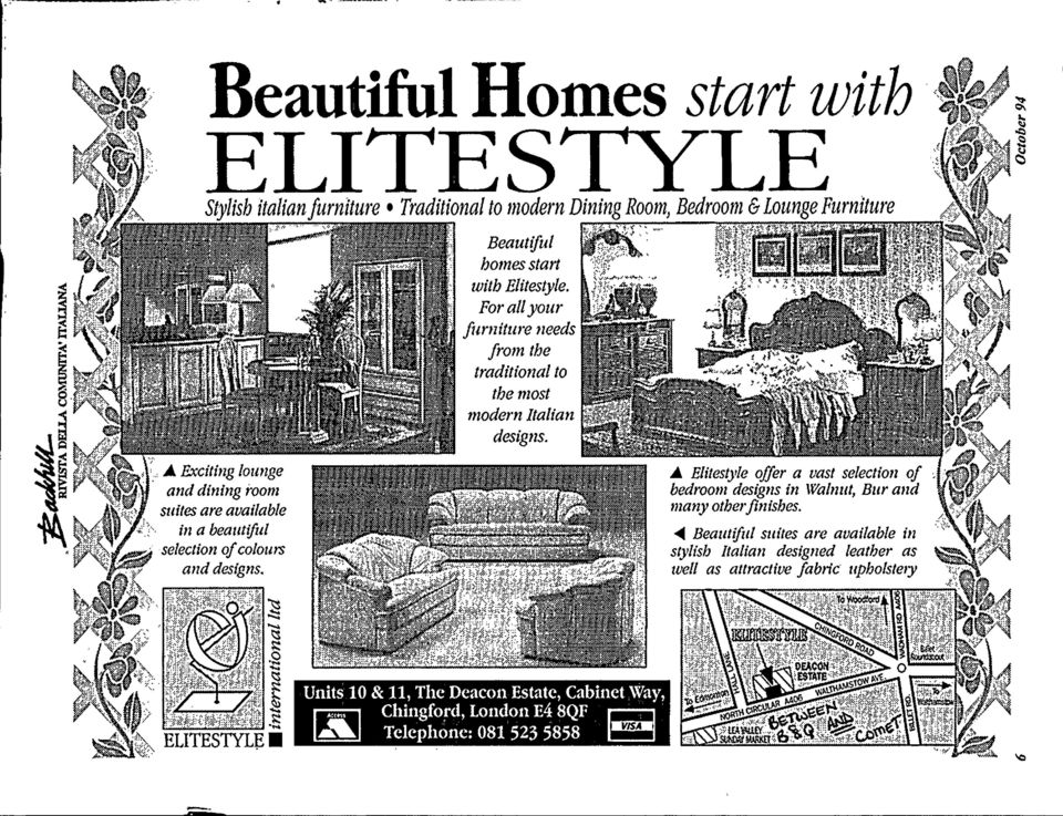 .,,..,.,,,,..,... '..,. Beautiful homes start with Elitestyle.