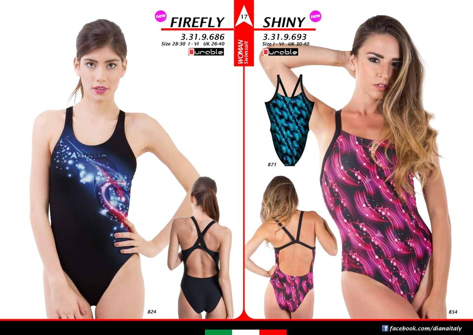 WOMAN Swimsuit SHINY 3.31.9.