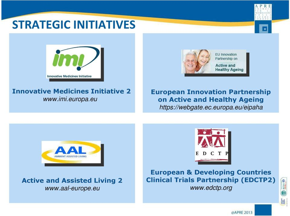 https://webgate.ec.europa.eu/eipaha Active and Assisted Living 2 www.