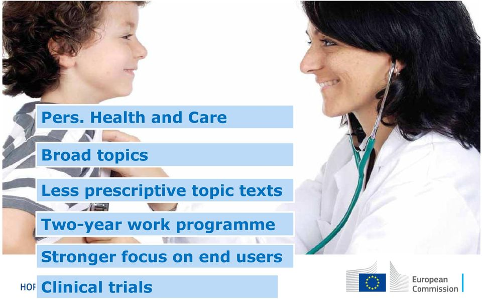 texts Two-year work programme