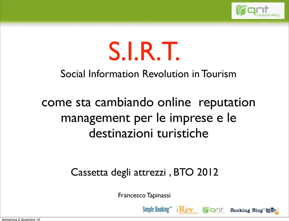 come sta cambiando online reputation