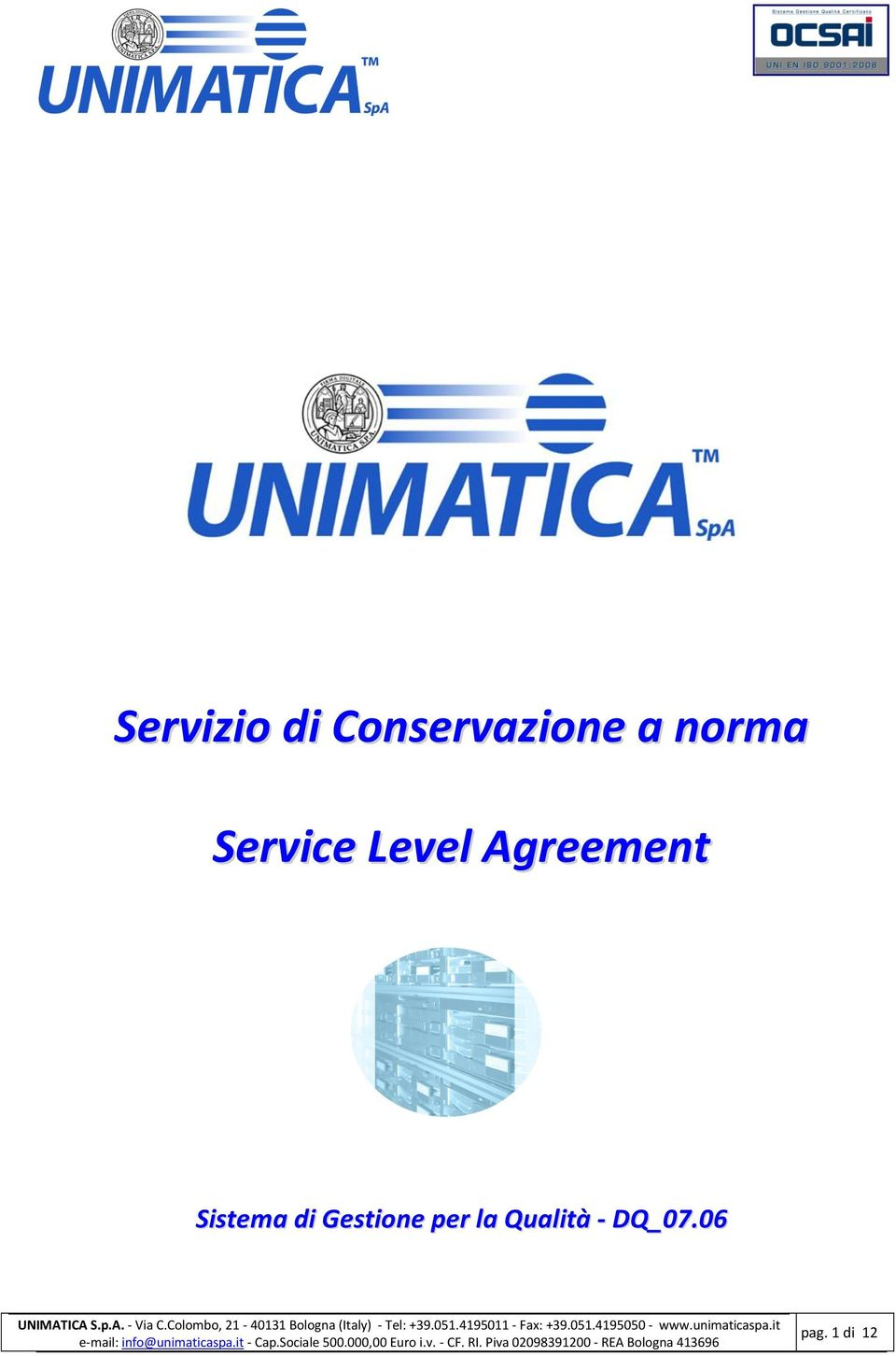 Agreement Sistema di