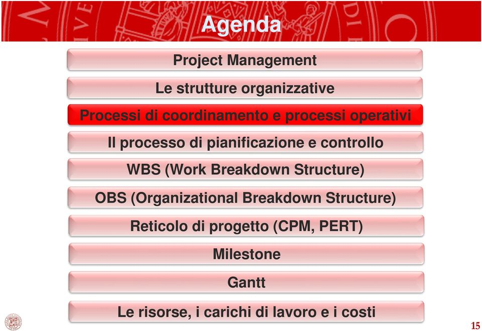 WBS (Work Breakdown Structure) OBS (Organizational Breakdown Structure)
