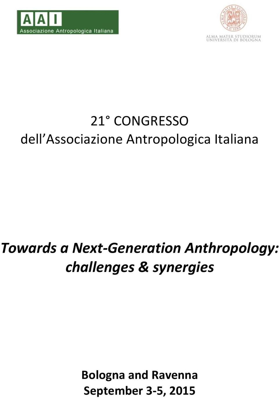 Next-Generation Anthropology: