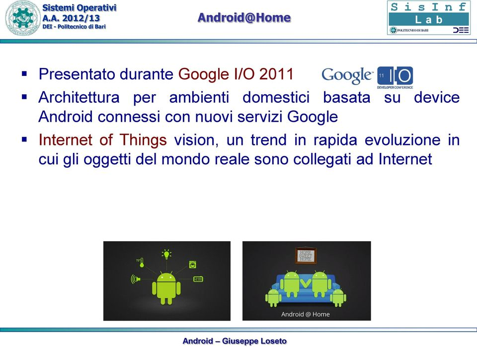servizi Google Internet of Things vision, un trend in rapida