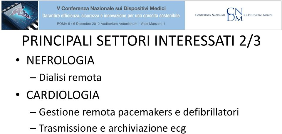 Gestione remota pacemakers e