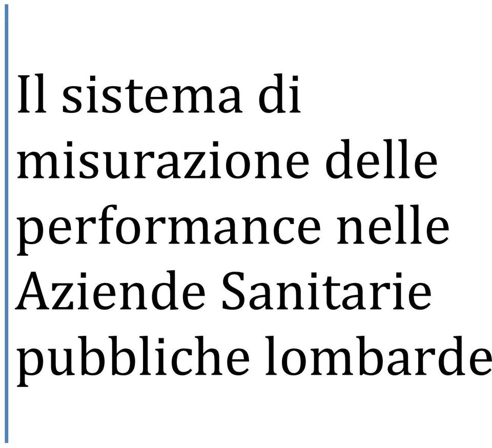 performance nelle
