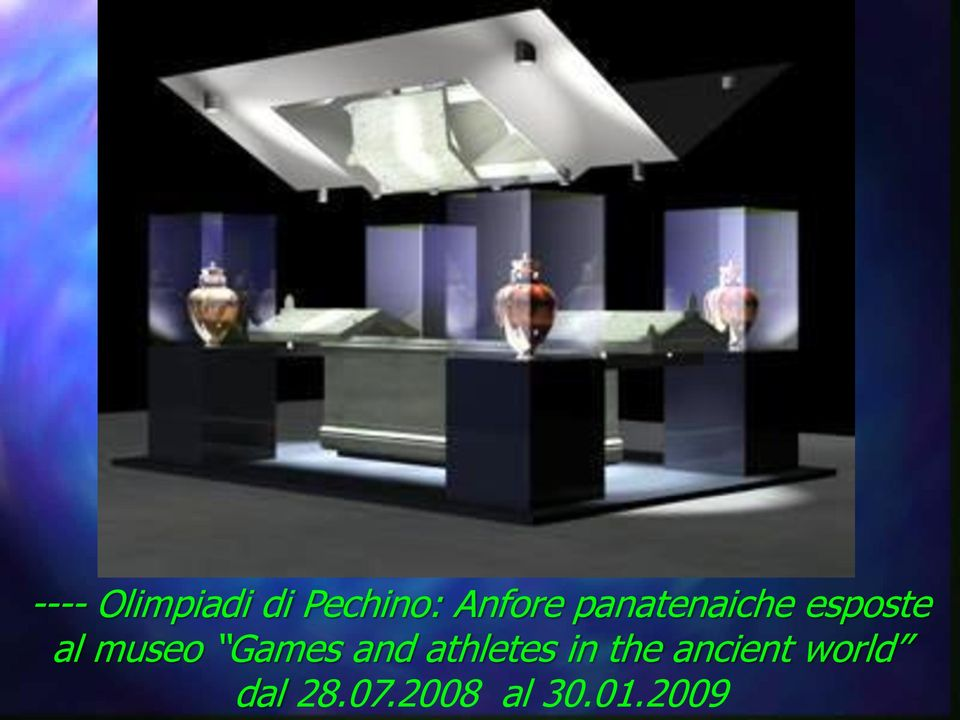 museo Games and athletes in the