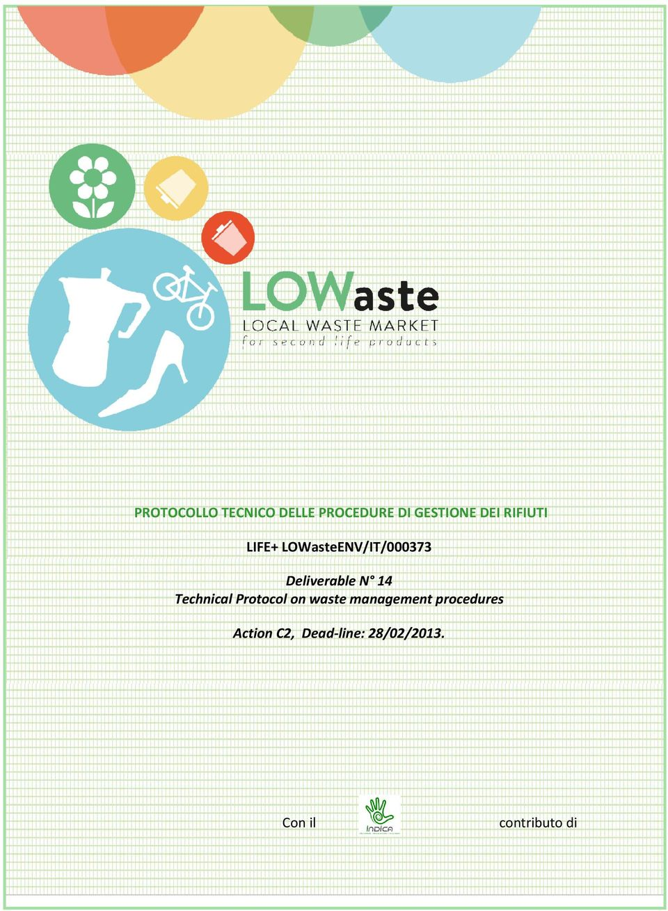Technical Protocol on waste management procedures