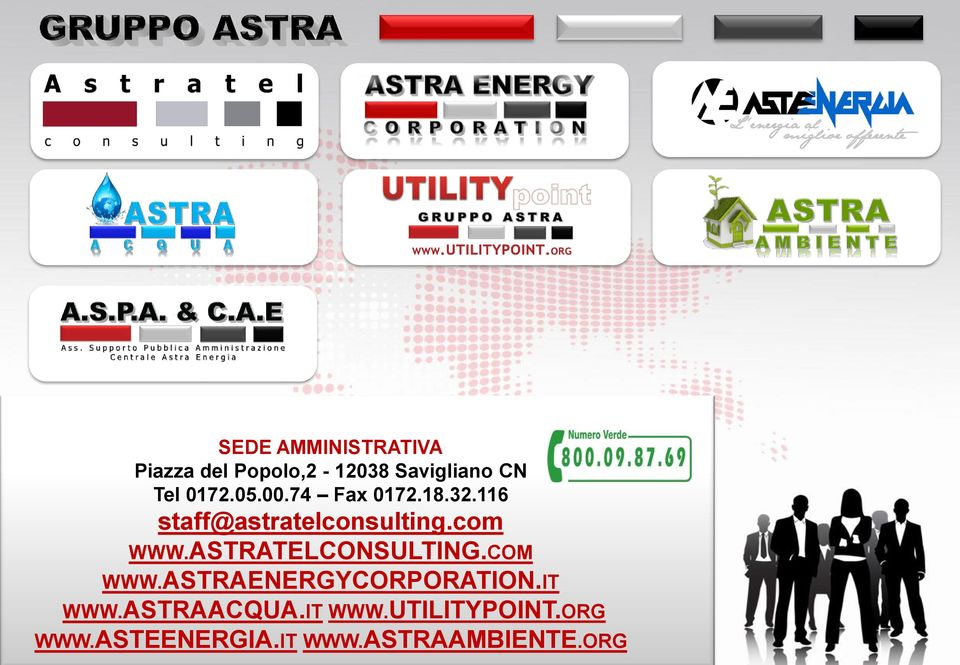 ASTRATELCONSULTING.COM WWW.ASTRAENERGYCORPORATION.IT WWW.