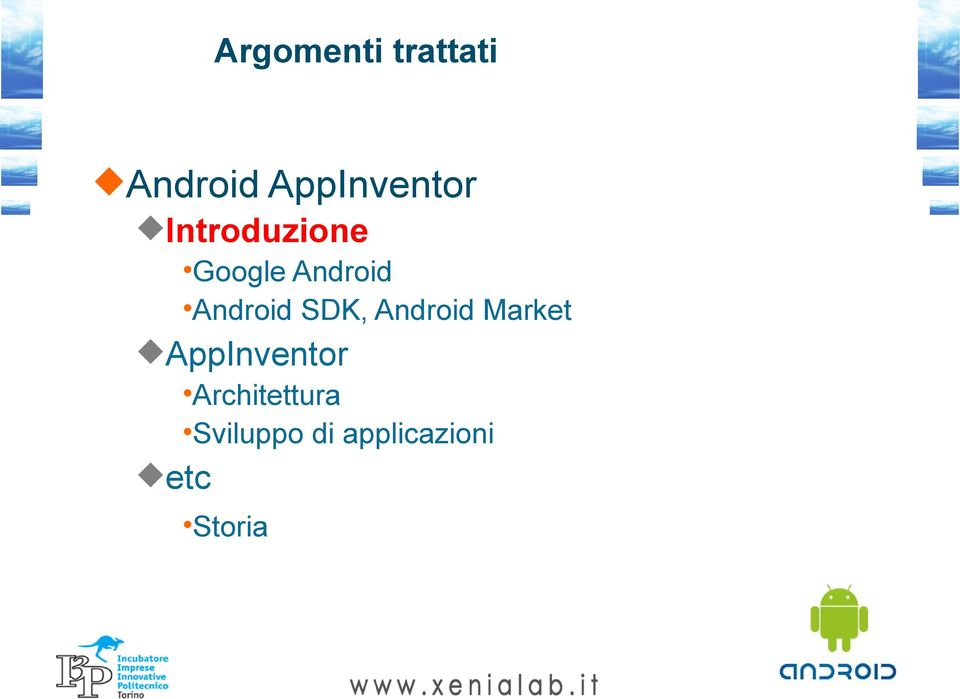 SDK, Android Market AppInventor