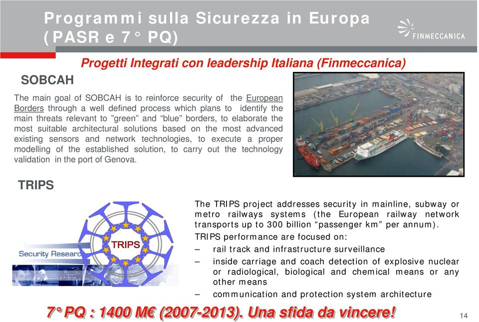 network technologies, to execute a proper modelling of the established solution, to carry out the technology validation in the port of Genova.