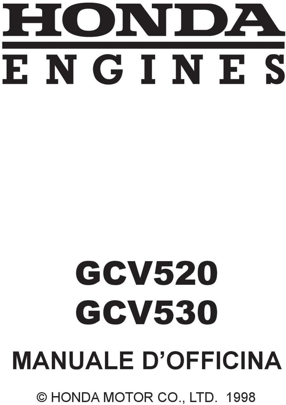 11:38 AM SUPPLEMENT GCV520 MANUALE D