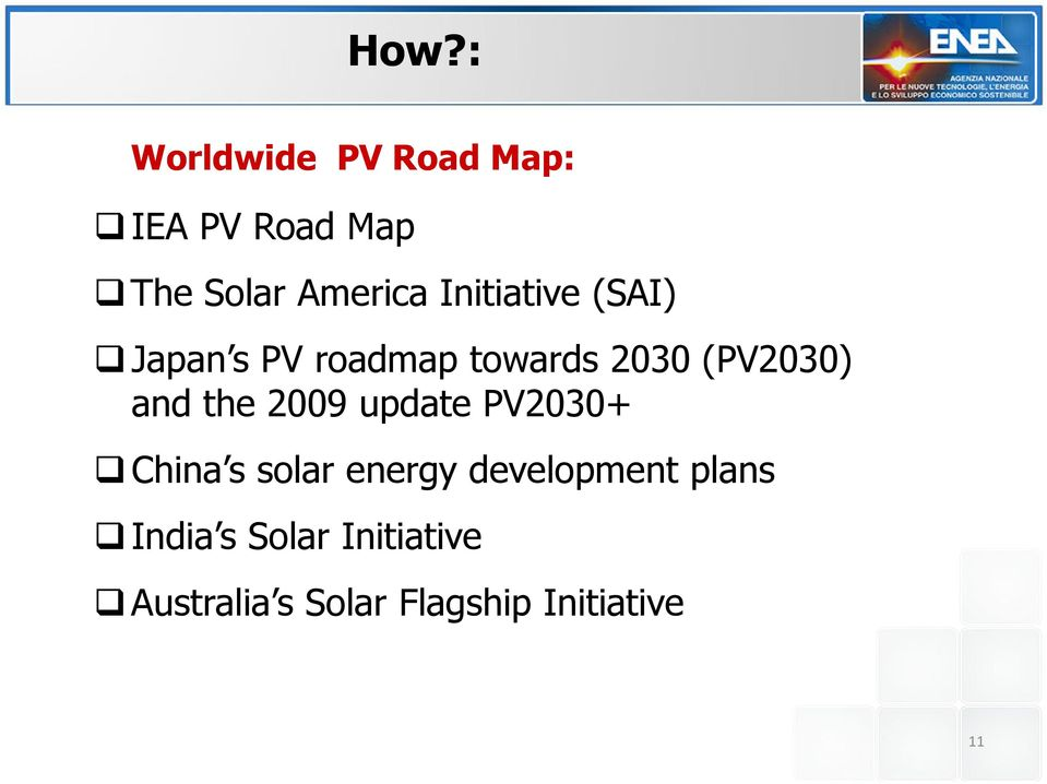 the 2009 update PV2030+ China s solar energy development plans